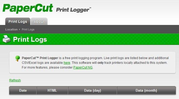 Print Logger