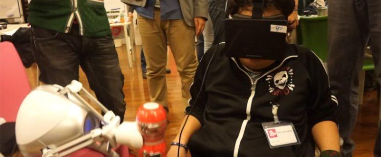 Simulador de sexo con Oculus Rift y Novint Falcon (NSFW)