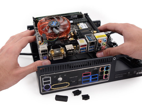 Motherboard de la Steam Machine