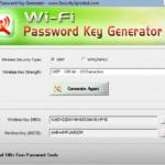 WiFiPasswordKeyGenerator