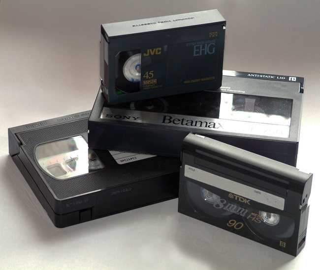 VHS y cassetes