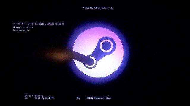 Instalando Steam OS