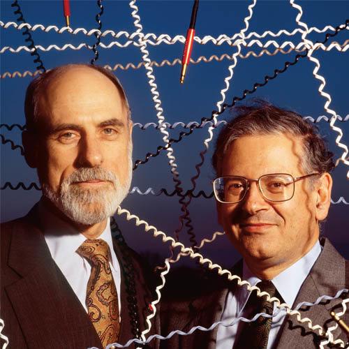 Vint Cerf y Bob Kahn