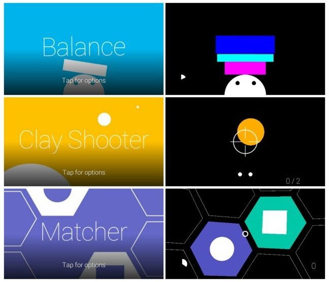 Juegos de Google Glass