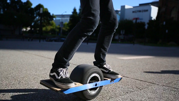 Onewheel puede andar a 20km/h