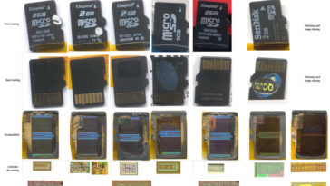 MicroSD hackeables