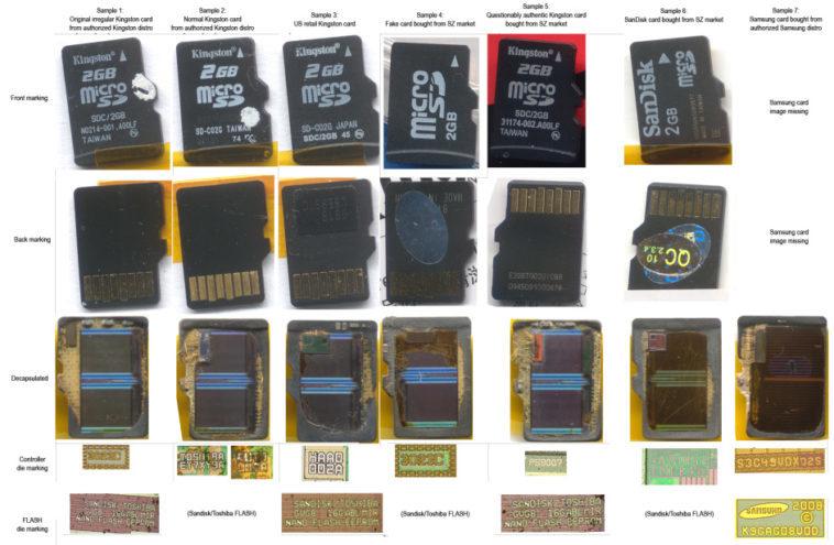 MicroSD hackeables