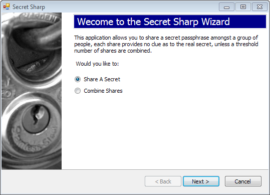 Secret Sharp