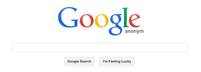 Searchonymous: Búsquedas anónimas en Google