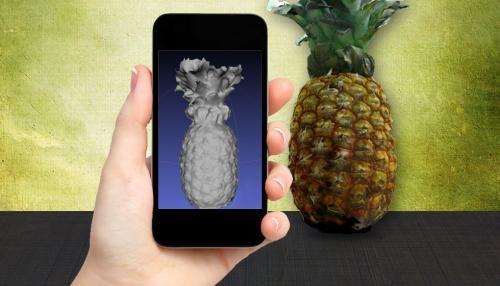 Un escáner 3D en tu teléfono móvil