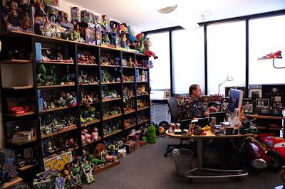 Pixar_John Lasseter's office