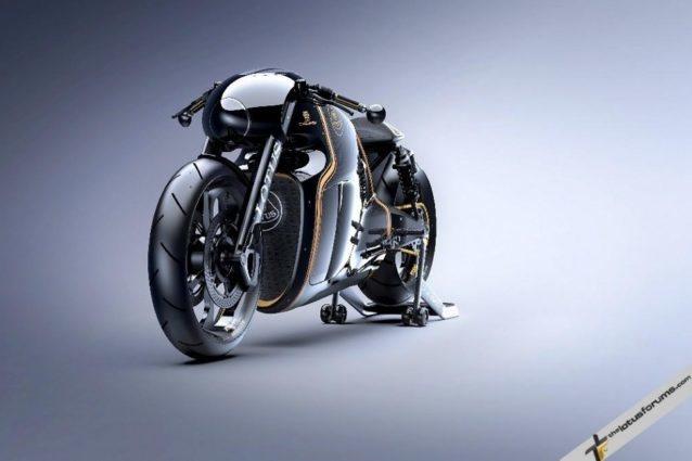La primera moto de Lotus
