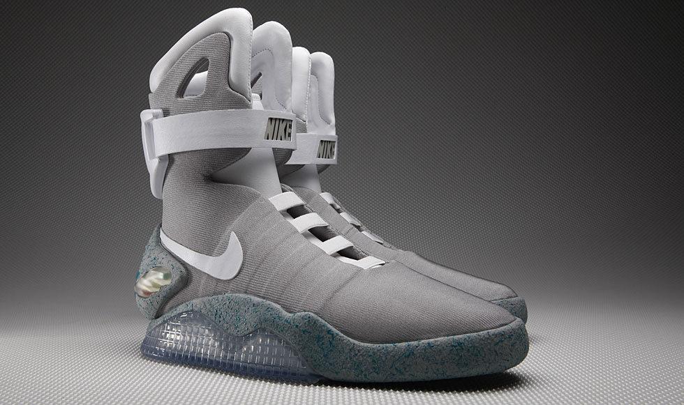 Las Nike Mag serán las que vendrán con los cordones electrónicos?