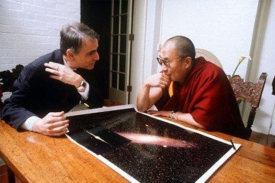 Sagan y Dalai Lama