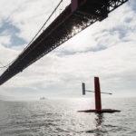 El velero dron en San Francisco
