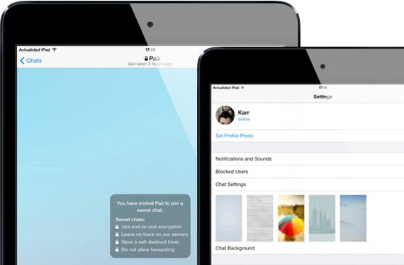 Telegram se podrá utilizar en varios dispositivos a la vez