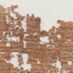 La carta de hace 1800 años