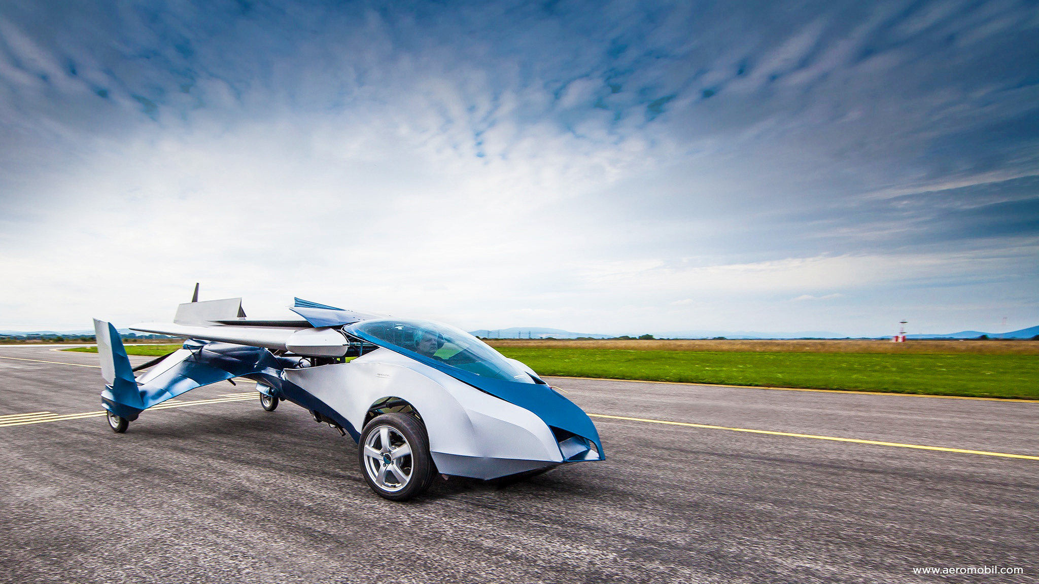 El aeromobil 2.5 es un invento checoslovaco