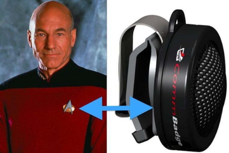 CommBadge: Comunicador a lo Star Trek