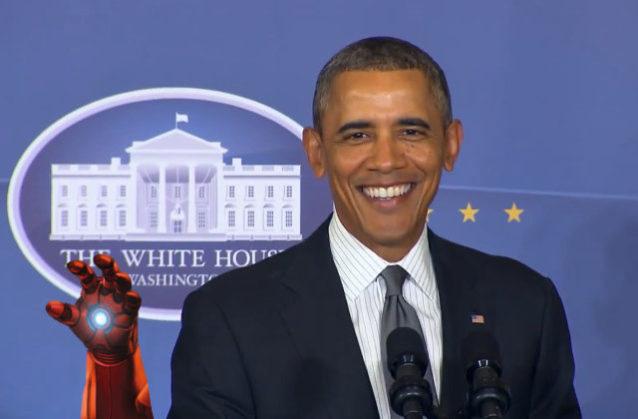 "Obama: ""Estamos construyendo a Iron Man"""