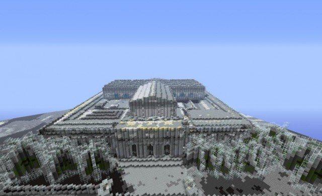 La biblioteca pública de New York en Minecraft