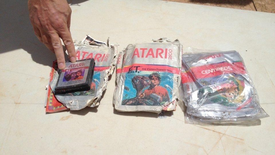 Cartuchos Atari