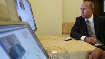 Vladimir Putin siendo Vladimir Putin