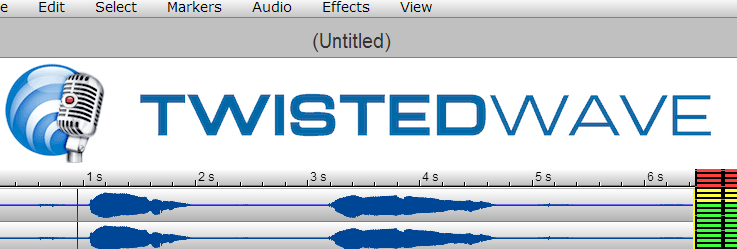 TwistedWave: Editor de audio gratuito y online