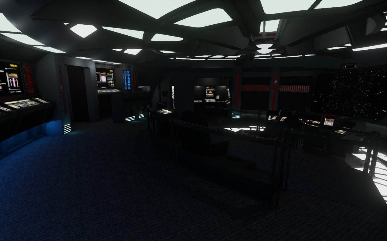 Starship Bridge Demo Un Paseo Por La Uss Voyager Con