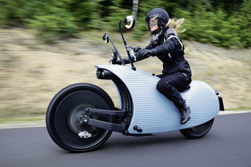 Johammer J1: Motocicleta eléctrica con autonomía de 200 km