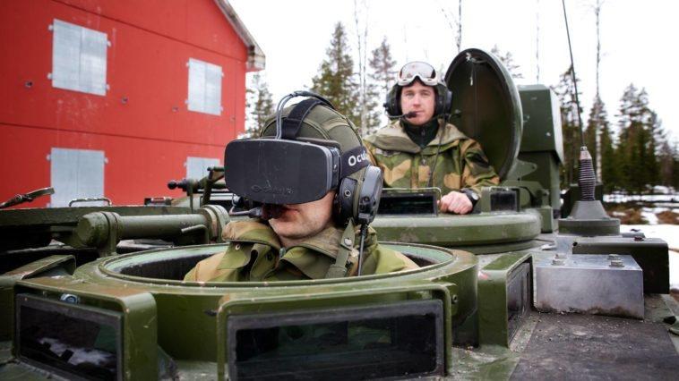 El ejército noruego prueba Oculus Rift para manejar tanques de guerra