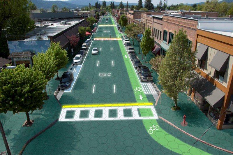 Las calles del futuro según Solar Roadways