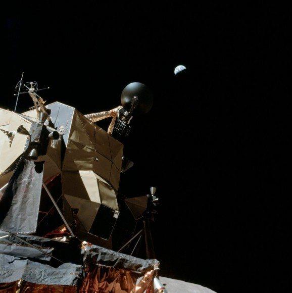 La vista de la Tierra desde el Apolo 17