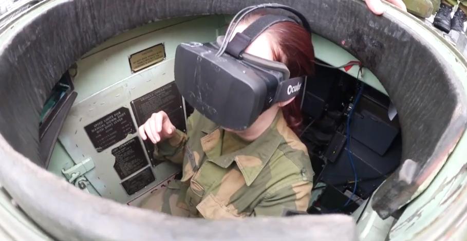 Los noruegos están probando Oculus Rift para manejar vehículos blindados