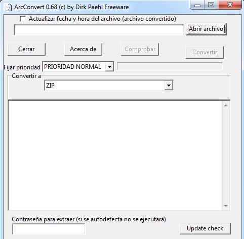 Vamos a hablar de ArcConvert una herramienta para convertir archivos comprimidos de un formato a otro