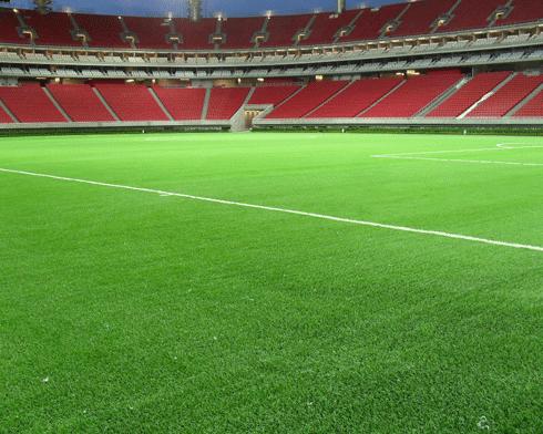 La grama de los estadios de la Copa del Mundo tendrá una ingeniosa mezcla entre césped natural y un sistema de fibras artificiales
