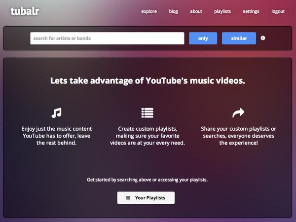 Escucha música gratis de YouTube