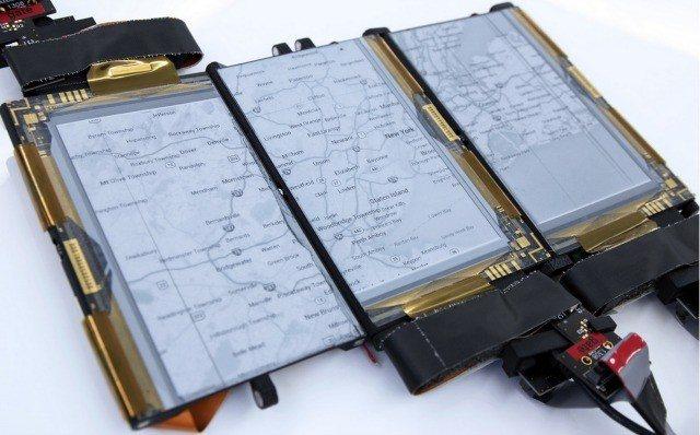 PaperFold en su esplendor con las 3 pantallas plegables