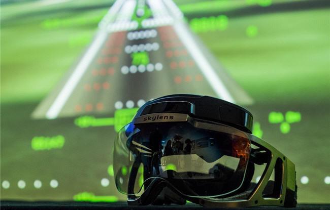 SKYLENS: Visores de realidad aumentada para aviación
