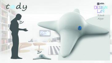 Tody es un concepto de robot aspiradora