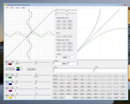 Calculadora científica y gráfica para aprender
