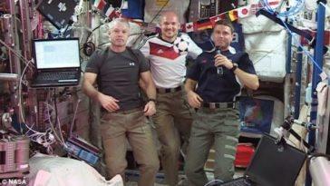 Los astronautas de la ISS mirarán el mundial de fútbol Brasil 2014