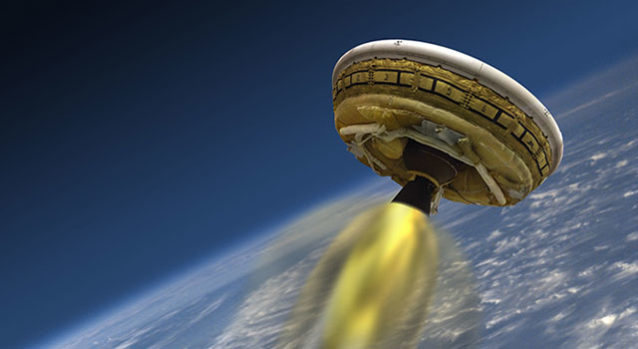 LDSD: El platillo volador de la NASA