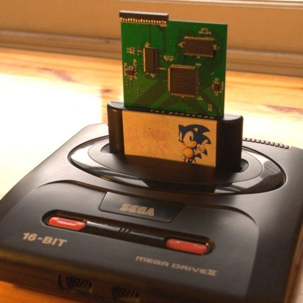 Usb Megadrive Devkit Todos Los Juegos De Mega Drive En Un Cartucho