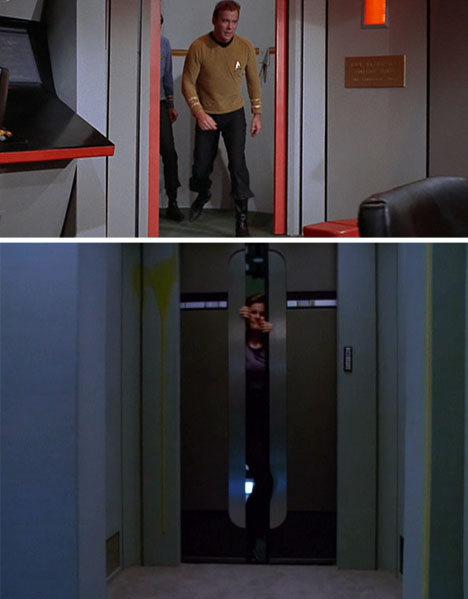 ¿Se acuerdan de las puertas de Star Trek?