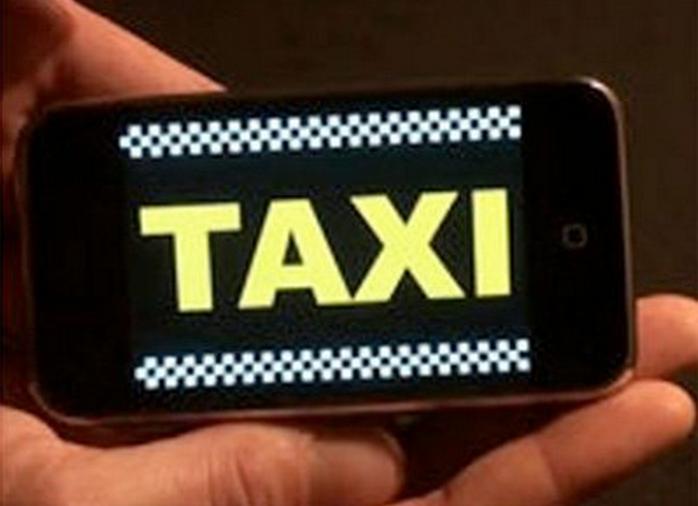 Señal para parar un taxi