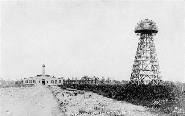 Torre Wardenclyffe creada por Nikola Tesla