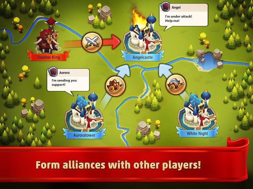 Forma una alianza con otros jugadores