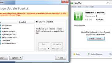 Otras características que nos ofrece la utilidad son: actualización lineal de archivo de hosts, activar y desactivar archivo hosts, fusionar dos archivos, cuenta con editor incorporado, protege los archivos de otras aplicaciones
