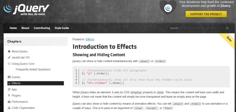 Hablando coloquialmente, jQuery ha simplificado a los desarrolladores la creación de páginas web multi plataformas